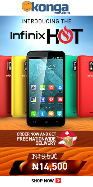 Buy the infinix hot online at konga.com