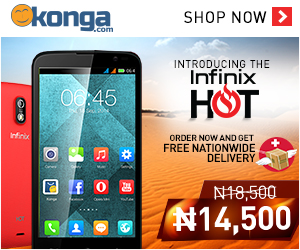 buy the infinix hot on konga.com