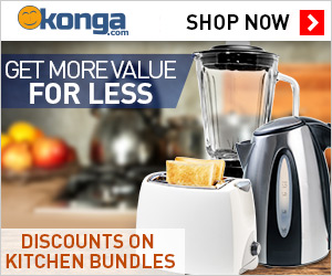 Konga Kitchen Appliance Ad
